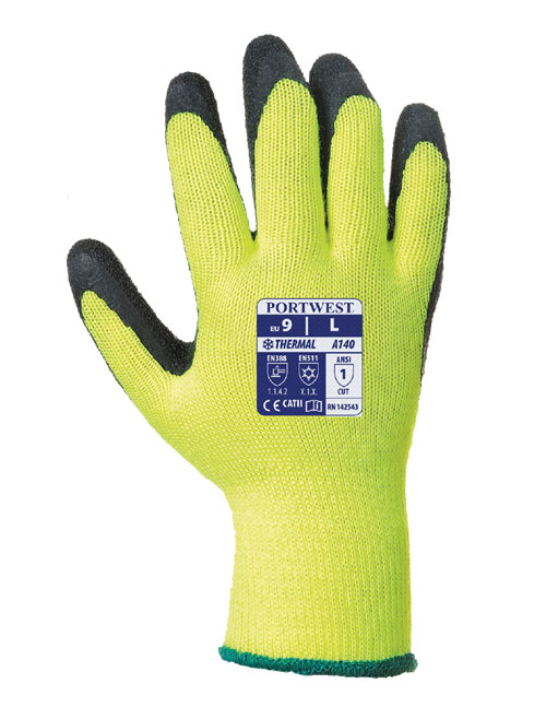 thermal grip glove front