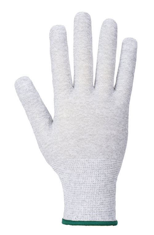 antistatic micro dot glove front