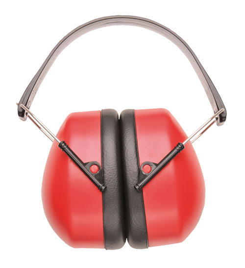 Super Ear Protector Red