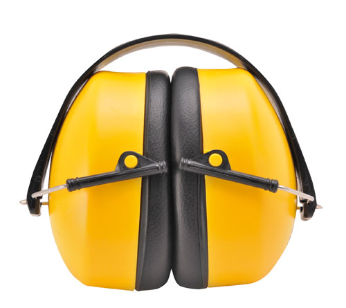 Super ear protector yellow