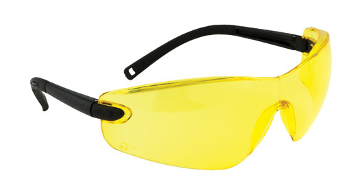 profile safety spectacle yellow