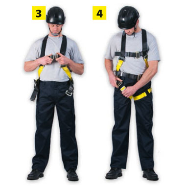 How to Don a Harness
