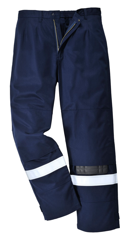 bizflame plus trousers navy