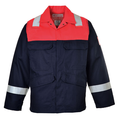 Bizflame plus jacket red