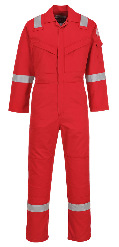 Flame resistant anti-static-coverall