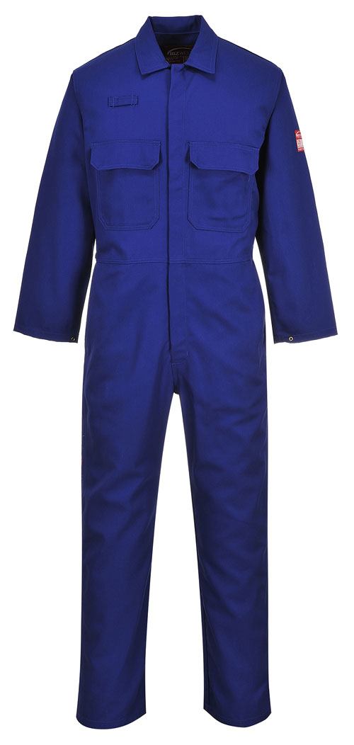 Bizweld Flame resistant Coverall Blue