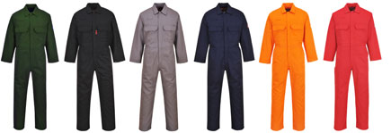 Bizweld Flame resistant Coverall Colours