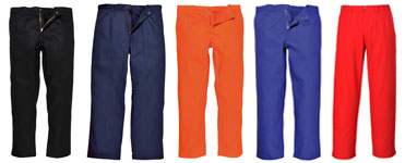 Bizweld trousers colours