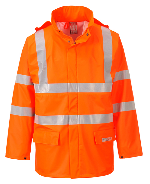 Sealtex Flame Hi-Vis Jacket Orange