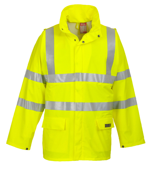 Sealtex Flame Hi-Vis Jacket Yellow