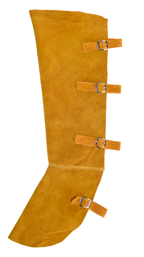 Leather welding boot covers