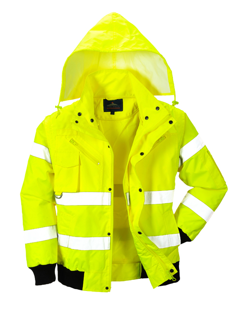 Hi Vis Bomber Jacket no fleece