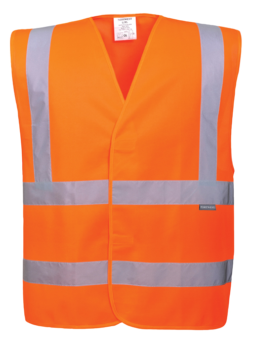 Hi Vis PPE Vest Orange
