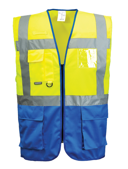 Warsaw Vest Yellow Blue