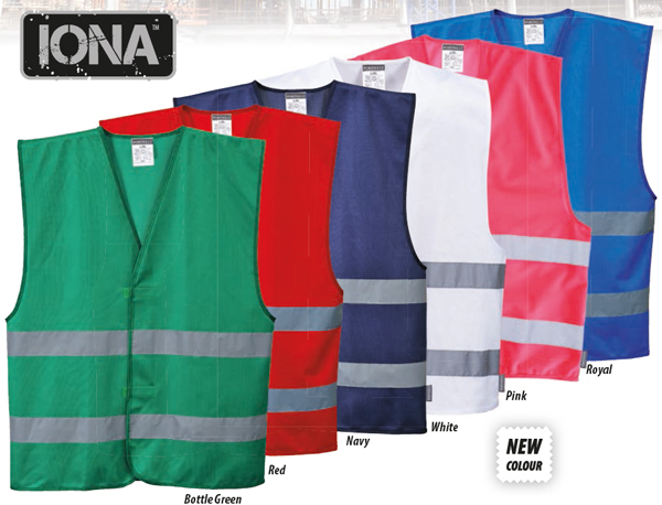 Iona Vest Colours