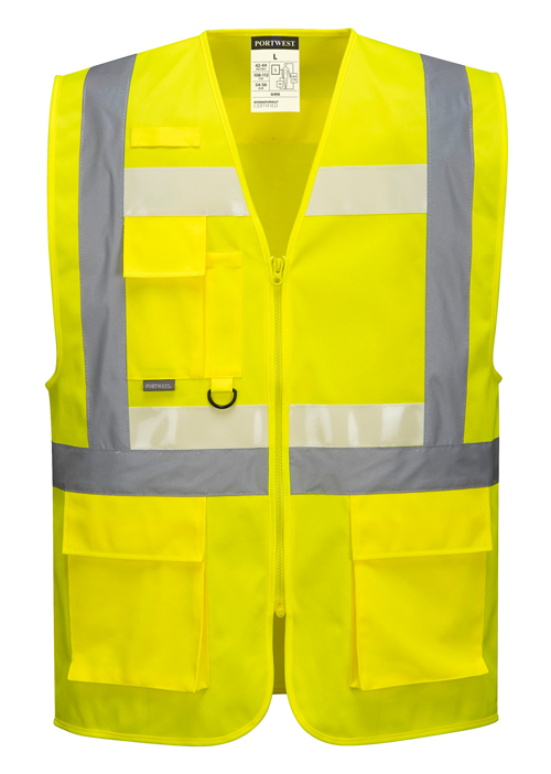 Glowtex Executive Vest Yellow