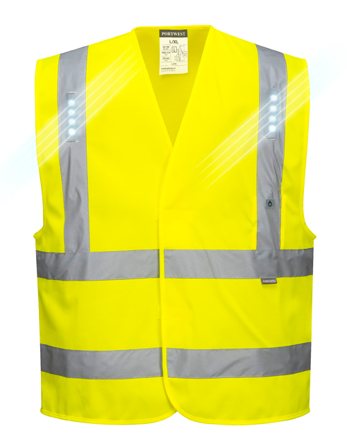 Vega LED Vest Yellow