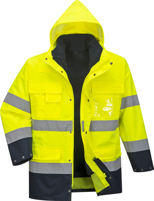 Hi Vis Lite Jacket Yellow