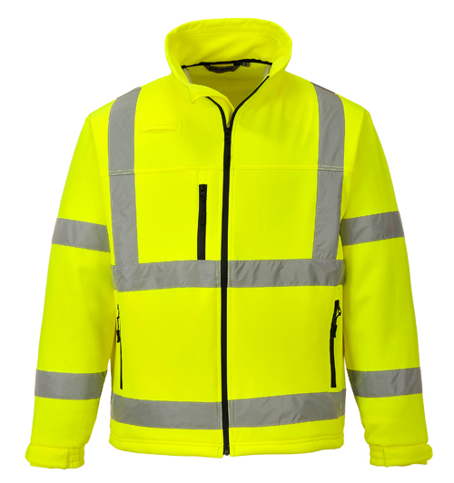 Hi Vis classic Softshell jacket yellow