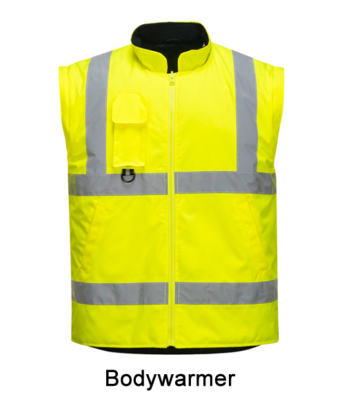 Hi Vis Traffic Bodywarmer