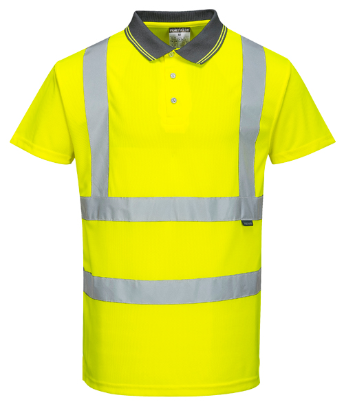 Hi Vis Polo Shirt Yellow