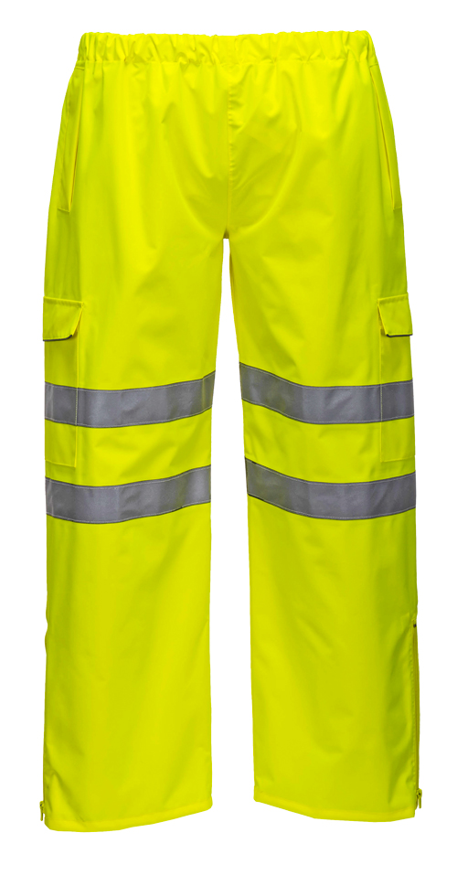Extreme hi vis trousers yellow