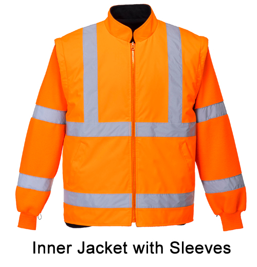 Essentials inner jacket with sleeves