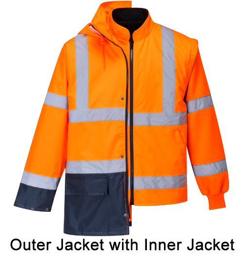 Essential outer jacket with inner