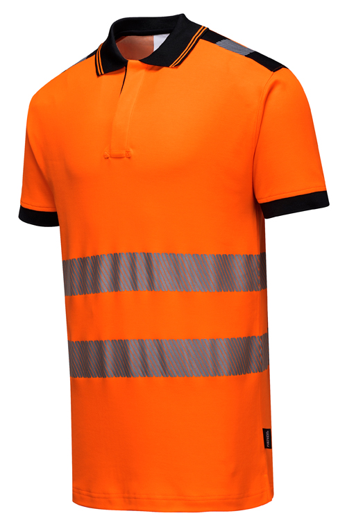 Hi Vis Vision Polo Shirt Orange