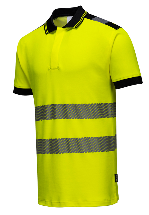 Hi Vis Vision Polo Shirt Yellow