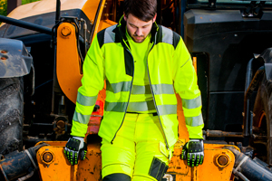 Hi Vis PPE Softshell Jacket