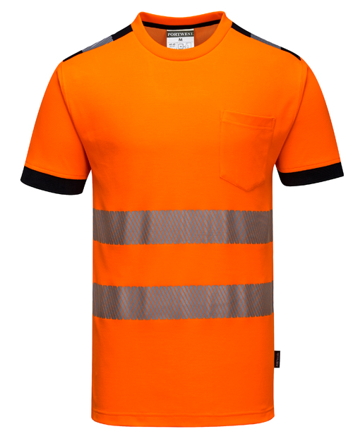Hi Vis Vision T-Shirt Orange