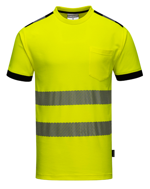 Hi Vis Vision T-Shirt Yellow