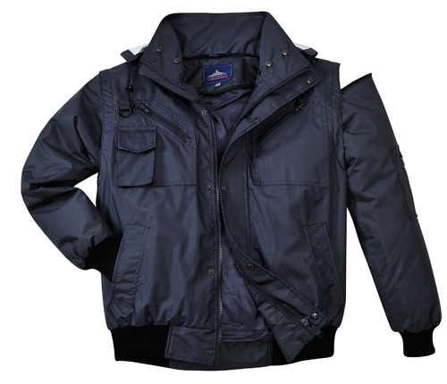 PPE 3-in-1 Bomber Jacket Without Fur