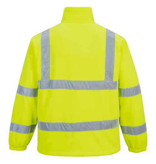 Hi Vis Mesh Lined Fleece Yellow