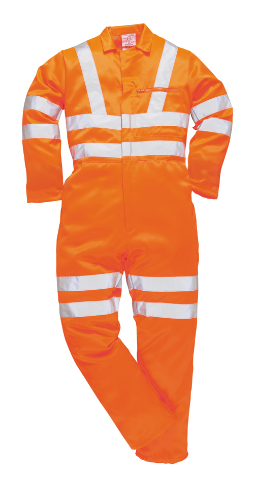 HI Vis Poly Cotton Coverall