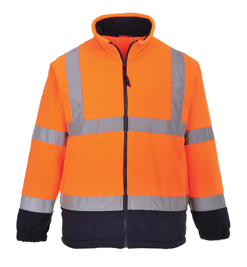 Hi Vis Two Tone Fleece Orange