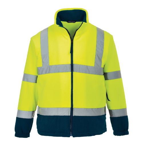 Hi Vis Two Tone Fleece Yellow