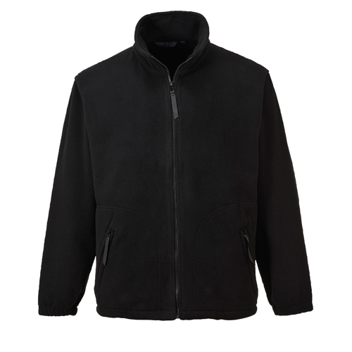 Argyll Heavy Fleece Black