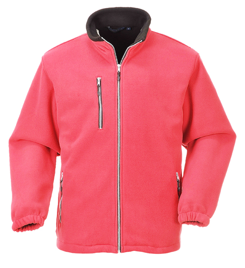 City Fleece Red