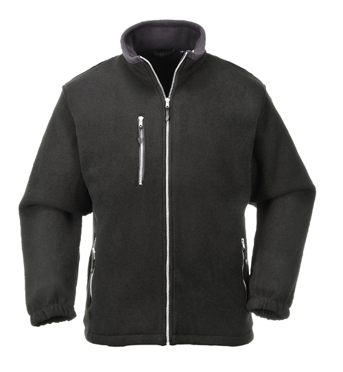 City Fleece Black