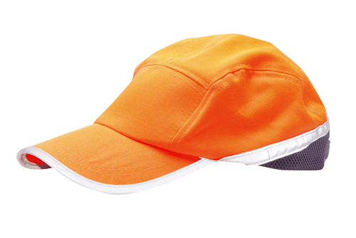 Hi Vis Baseball Cap Orange