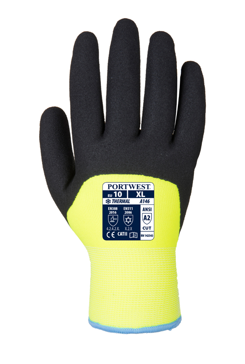 A146 Arctic Winter Glove Yellow